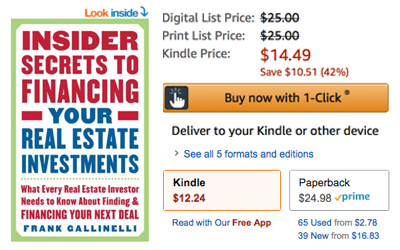 Review: Insider Secrets to Financing Your Real Estate Investments